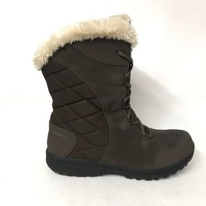 Columbia Waterproof Winter Boots Women's Size 12